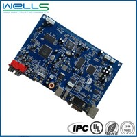 immersion gold electronic circuit assembly pcba board