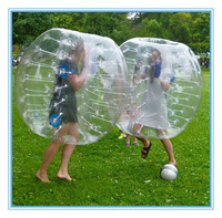 Cheap human sized hamster ball for sale, colourful hamster ball for adults same price with clear ball