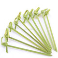 wholesale convenient food knot bamboo skewer decorative items