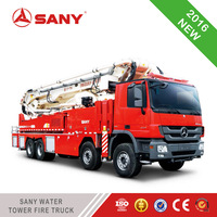 SANY High Security Water Tower Fire Truck Pumps For Fire Truck of Brand New Fire Truck