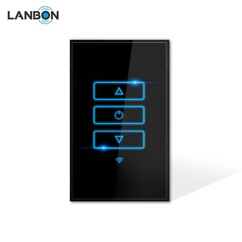 LANBON New Smart Wifi Dimmer Switch Without Host Server Touch Screen Panel Wall switch