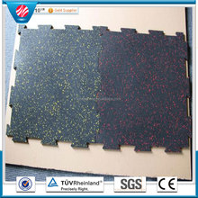 Safety pad 10mm thick rubber mat for gym
