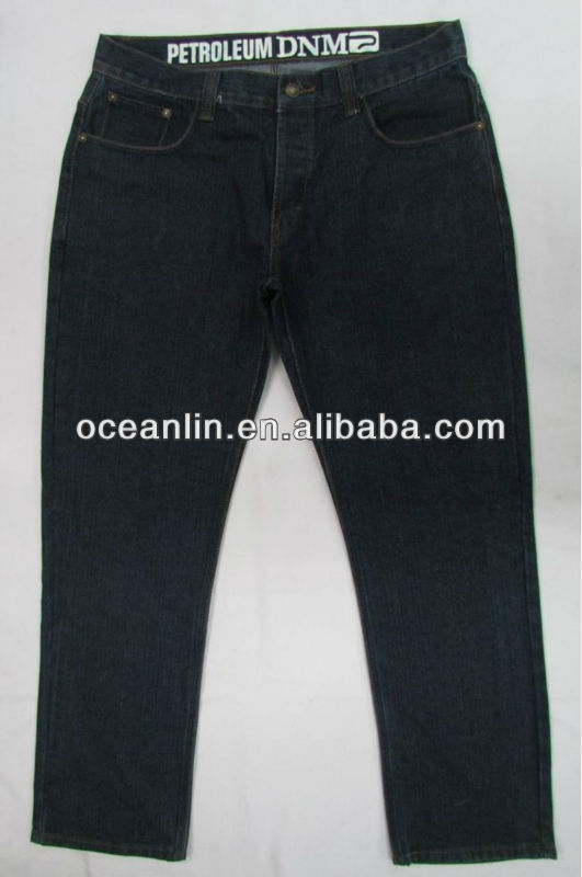 fashion men's causal blue denim jeans/pants