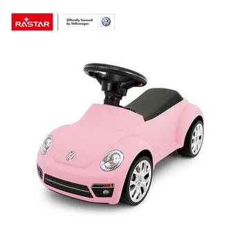 Rastar kids foot to floor toy Volkswagen beetle plastic kids ride on car