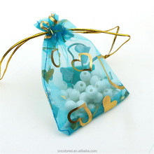 custom printed organza pouch wholesale