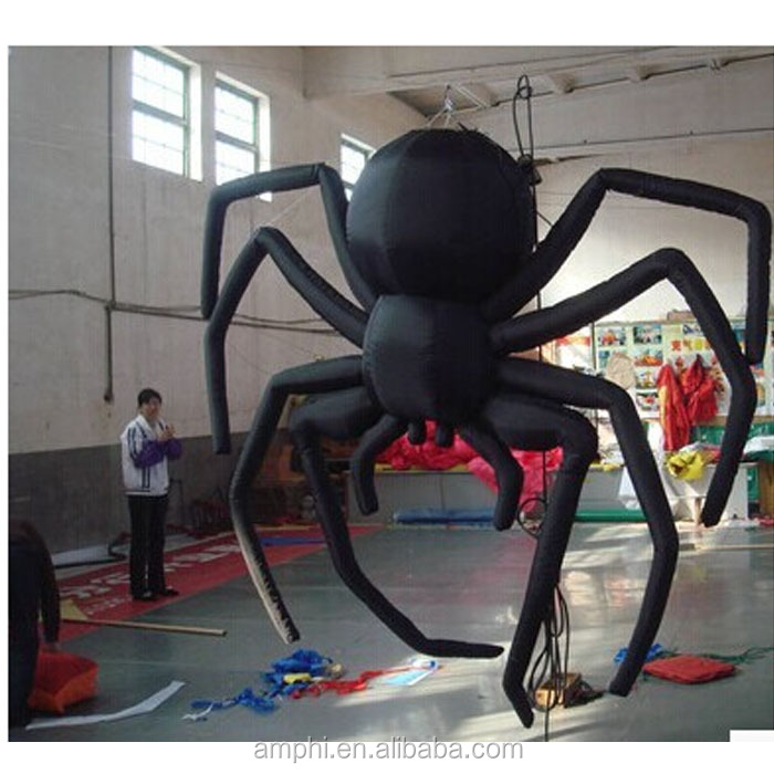 Halloween giant spider inflatable, holiday decoration