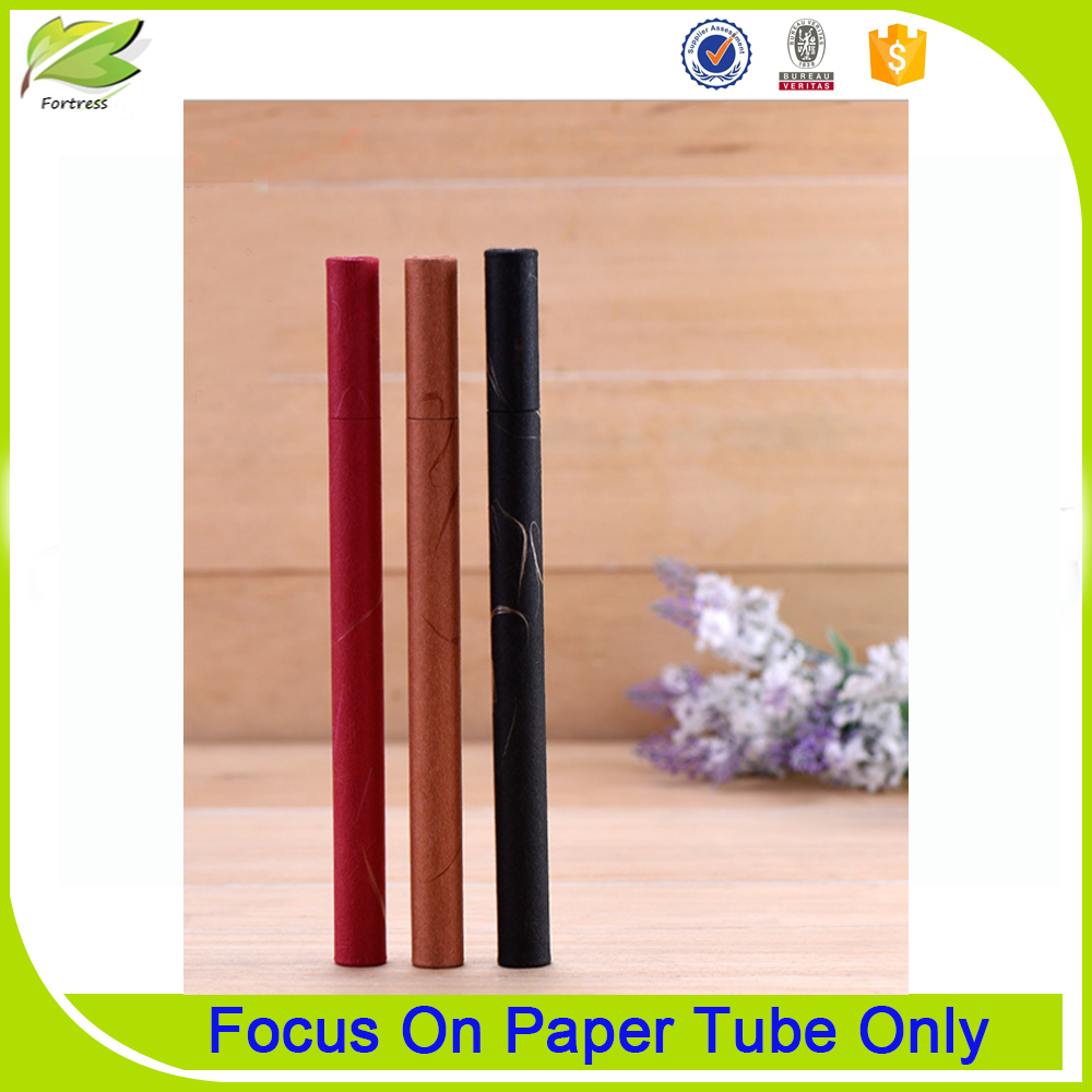 Luxury Fancy Red Small Cardboard Cylinder Mailing Tube