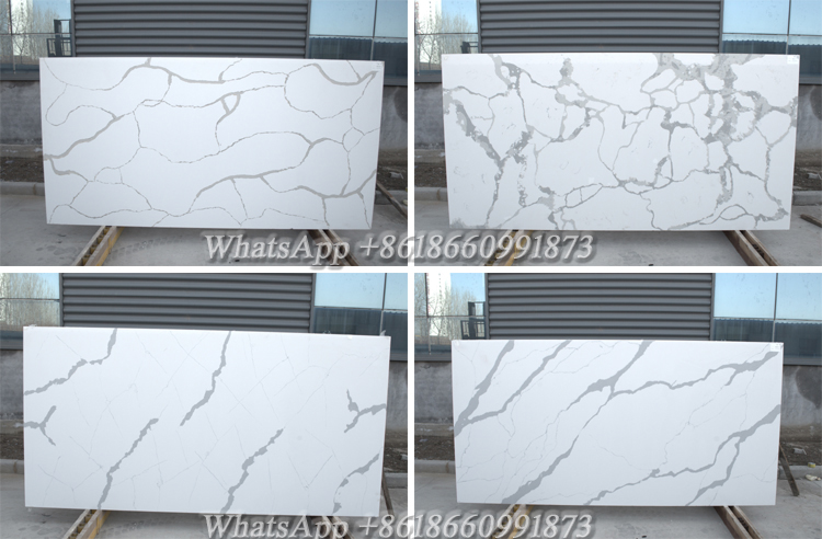 Man-made Brazilian Starlight 20mm Artificial Chinese Thin Wholesale Quartz Slabs, White Quartz Slabs