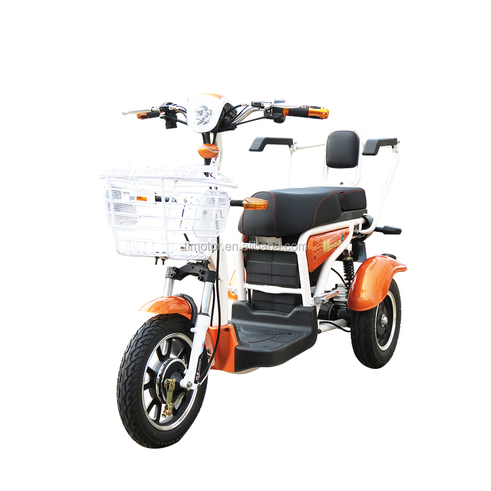 500w 48v hot selling scooter for adults three wheels electric scooter 3 wheels electric bicycle