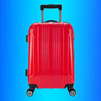 Stocklots Overstock job lots ABS PC hard case trolley luggage, surplus wheeled travel bag, excess inventory suitcase set