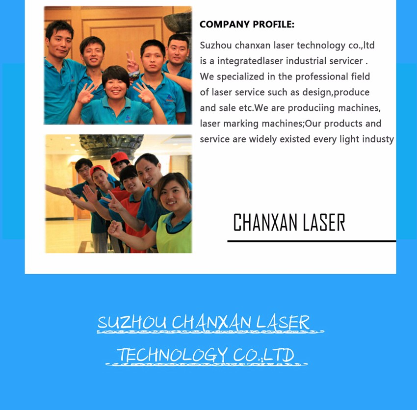 High speed laser cutter mobile phone tempered glass screen protector cutting machine from Chanxan
