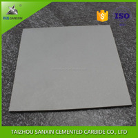 tungsten carbide plate/sheet/block yg8 carbide wear plate cemented carbide sheet tungsten carbide block