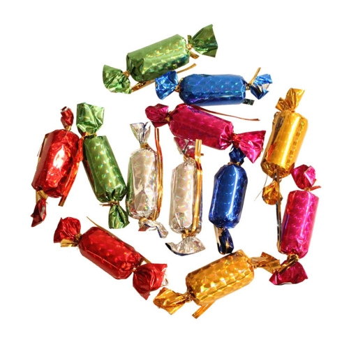 12 PCS Christmas Tree Decoration Colorful Candy Hang Ornament, Random Color Delivery
