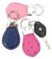 Genuine Ostrich Leather Key ring