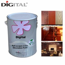 Scratch resistant PU white wood DECO furniture paint