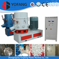 Soft plastic Agglomerating machine