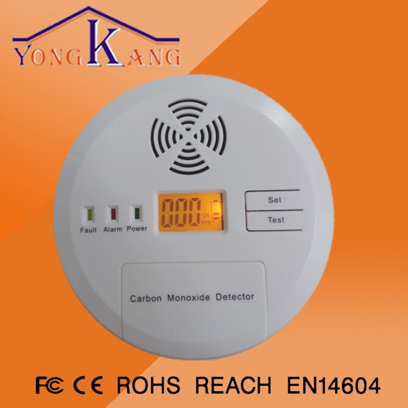 433mhz carbon monoxide detector/9v smoke detector battery operation/android smart home