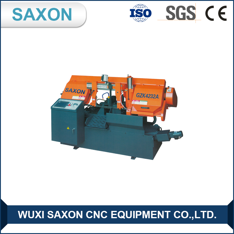 buy direct from china manufacturer High Quality GZK-4232A CNC horizontal band sawing machine