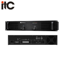 ITC T-1S60 Series 60W 1 Channel 2U Power Personal Sound Amplifier