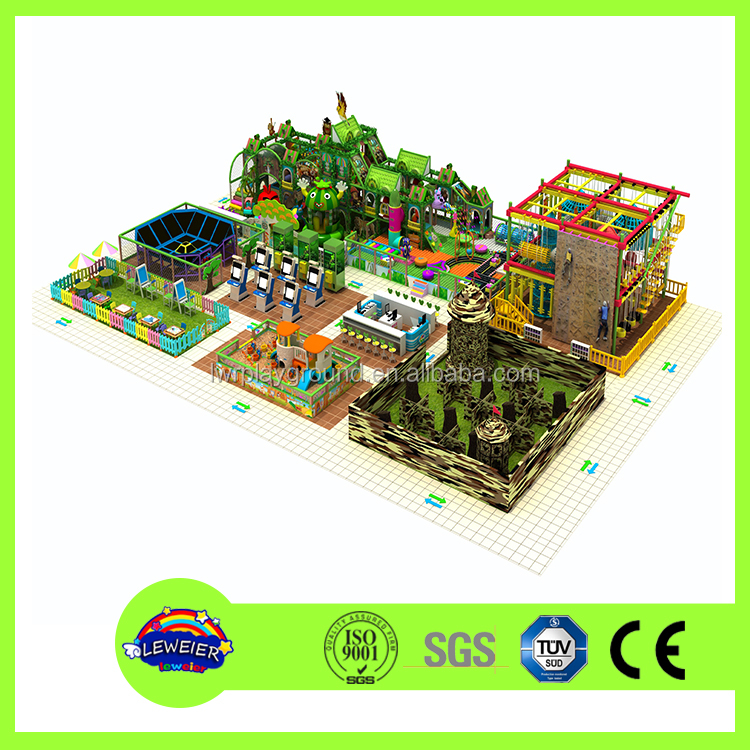 Playroom Children Commercial Indoor Playground Equipment
