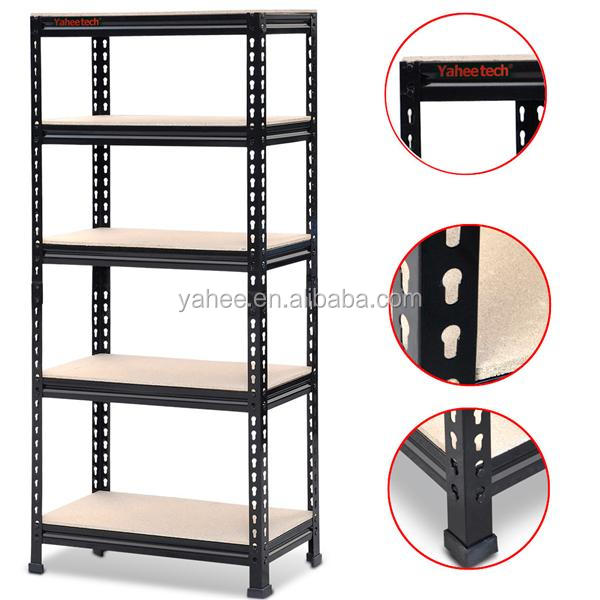 5 Tier Boltless Industrial Racking Garage Shelving Storage Shelves Heavy Duty