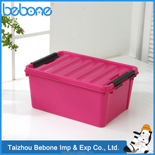 Multipurpose household coloured plastic toy cartoon box for clothes storage