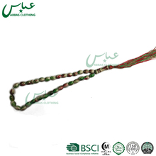 ABBAS BRAND 2017 wholesale colorful muslim prayer polyster 33 wood beads