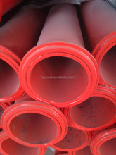 "5"" inch steel pipe concrete delivery pipe st 52 wear resistant"