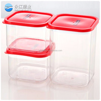 wholesale popular house large waterproof storage boxes vacuum vegetable crisper plastic food container lunch crisper