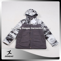 polar fleece clothing outdoor military jacket polyester hunting polar fleece youth college jacket