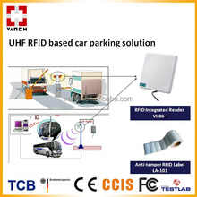 RFID automatic smart car parking sensor system