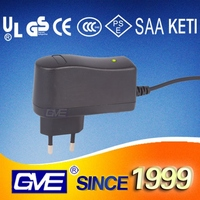 12V, 1A GS Plug Battery Charger with GS Certification for Message Chairs