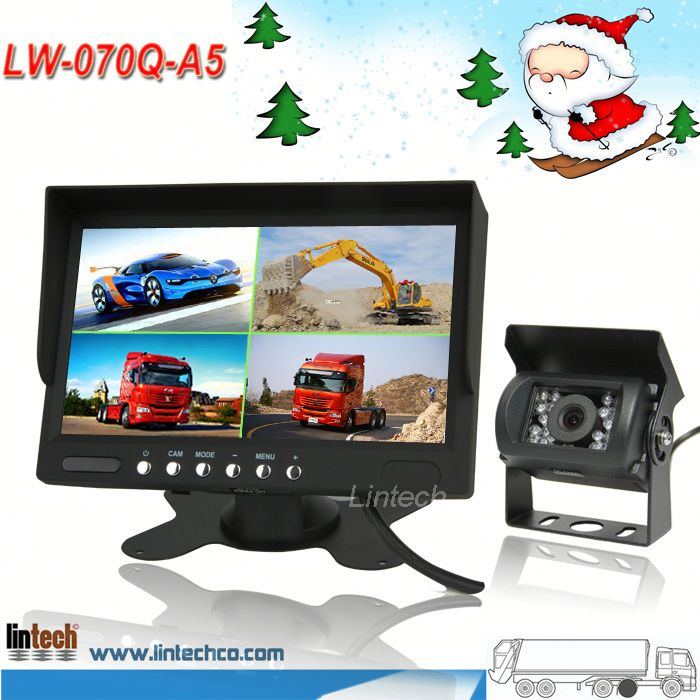 China supplier 7 inch car rear view camera system/backup camera system/parking assist sensors
