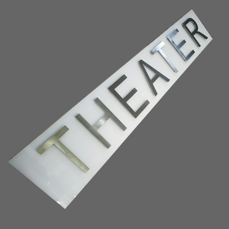 Acrylic stainless steel led lights letter <strong>sign</strong> board