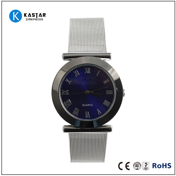 mesh bracelet watch cheap movement sell in china