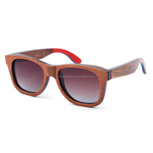 Professional manufacture bamboo/wood sung lasses custom 100% handmade Wooden sunglasses