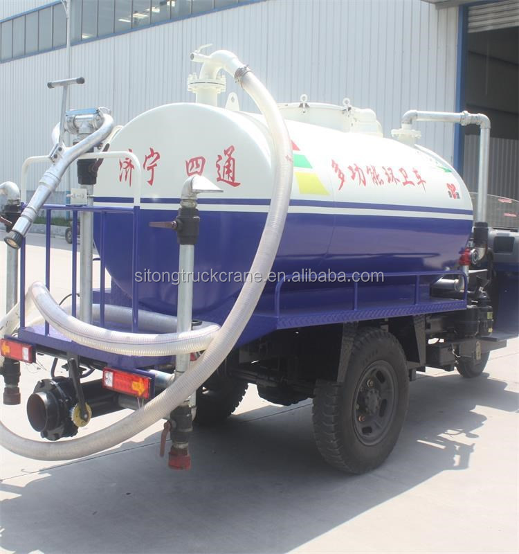 Hot Sale LUYING Brand Multifuction Motor Tricycle Water Truck