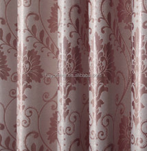 Top Quality Fashionable Design 100% Polyester Jacquard Blackout Curtain Fabric