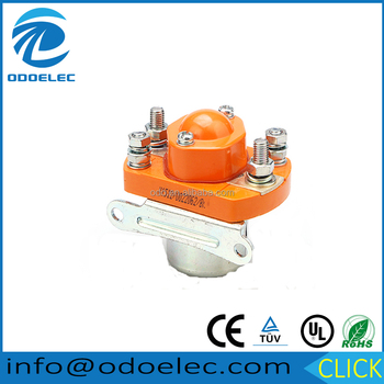 ODOELEC 24VDC 400A 1NO USING FOR CAR BATTERIES ELECTRIC FORKLIFT TRUCKS TRAINS SHIPS DC CONTACTOR