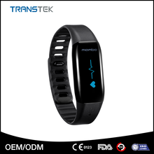 Bluetooth 4.0 pedometer wristband, smart movement healthy bracelet