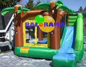 echo combo inflatable games, residential inflatable bouncers