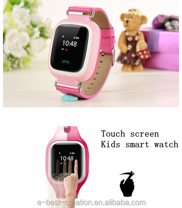 Waterproof IP67 kids gps watch with calling and voice monitor -Caref watch for sole agent 2014 oem smart watch