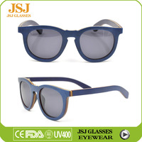 Best Selling Customized Brand Sungalsses, Famous Logo Engraved on Wooden Sunglasses