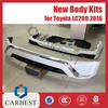 High Quality New PP Toyota Land Cruiser 200 2016 Body Kit