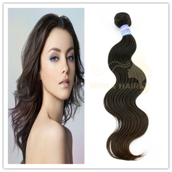 Hot sale elegant Brazilian water wave hair extensions
