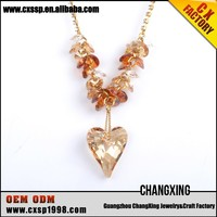 Special design gold thin chain pendant necklace jewelry wholesale
