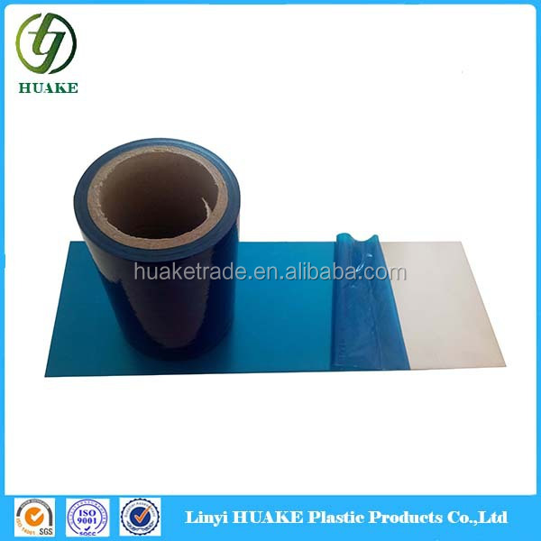 hot blue films videos blue protection film China blue adhesive film for Aluminum Composite Panel