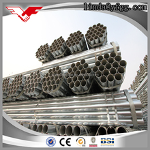 china manufacturer of BS1387 standard 1/2 - 4 inch electrical wire conduit hot dip galvanized steel pipe