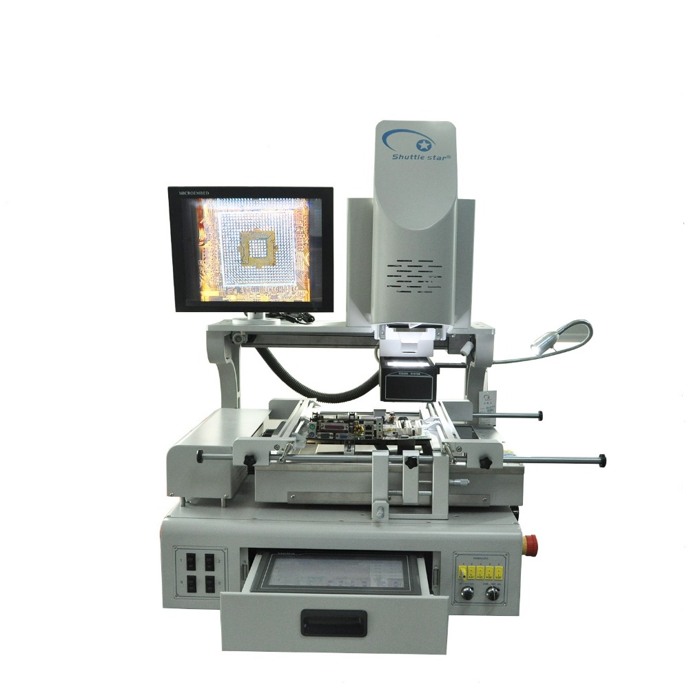Hot sale! Lastest BGA Rework Station Infrared BGA chip Soldering Reballing Machine SV550A