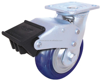 5 inch plastic castor wheel,industrial caster wheel good price